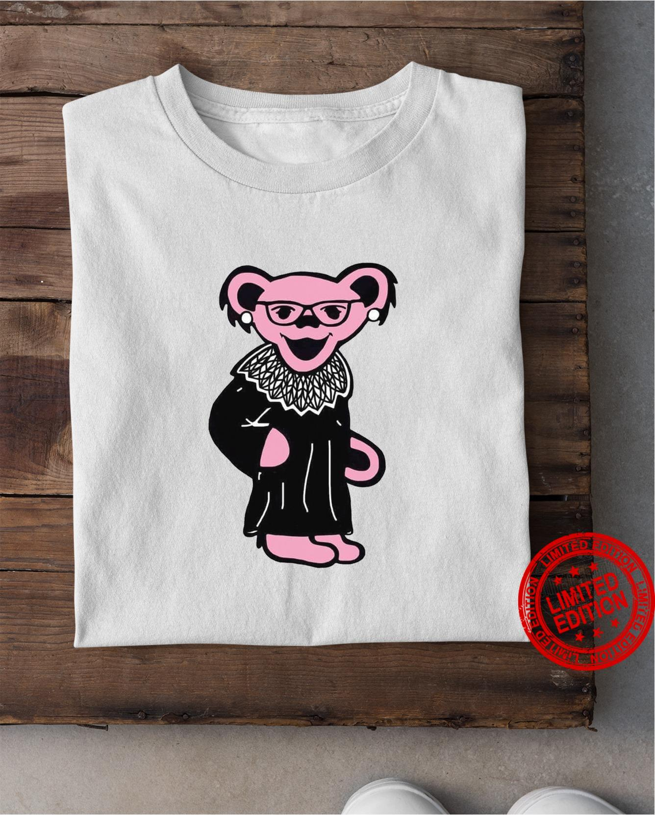 Pink Parther In RBG Shirt