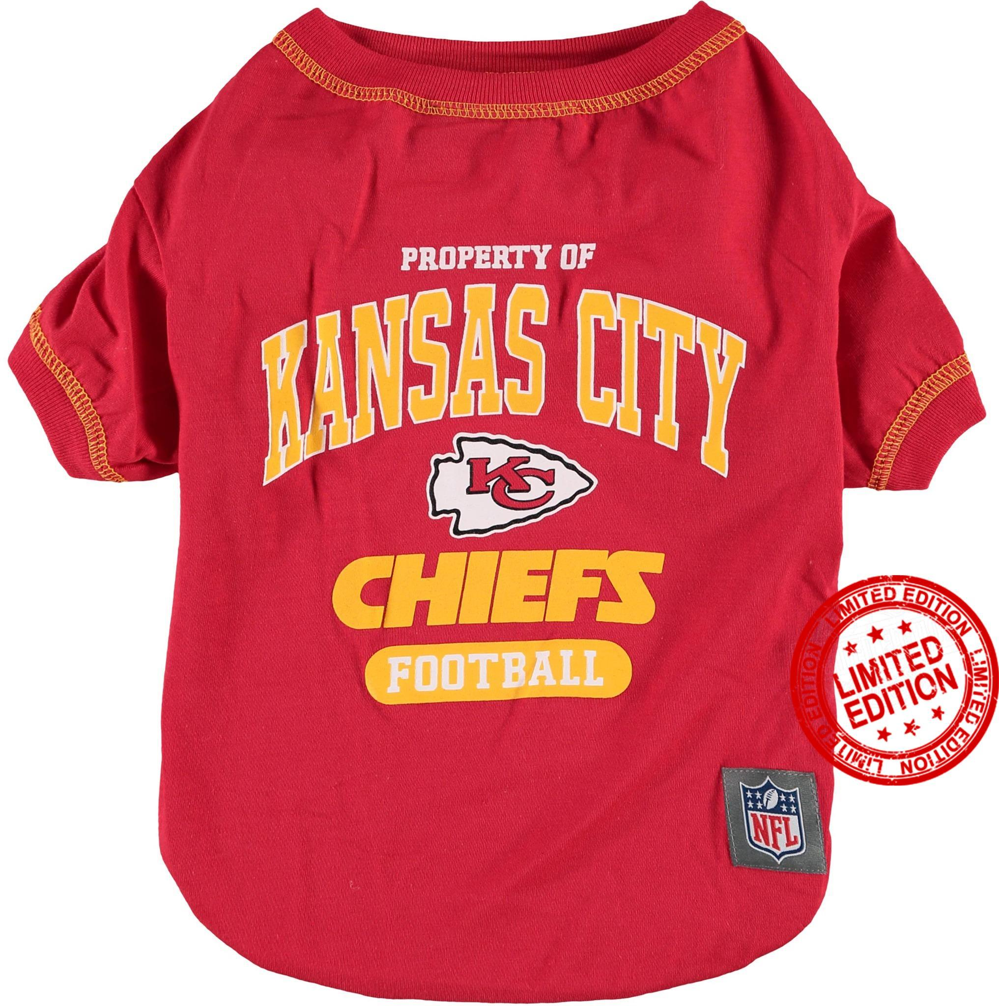 Property Of Kansas City Chiefs Football Shirt